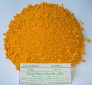 China Cadmium sulphide (CdS) granule on sale
