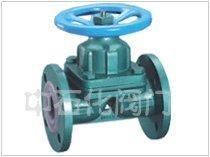 China Line with the glue weir type diaphragm valve on sale