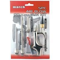 China Air Blow Gun Kit Duster Blower with 5pc different tips on sale
