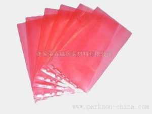 China Pink PE anti-static bag on sale