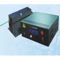 Fiber-coupled Diode-Pumped Nd:YAG Green Laser