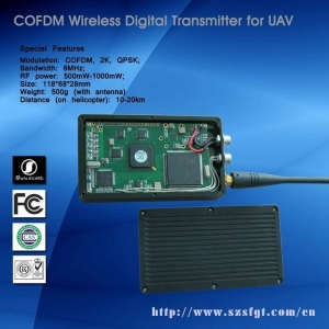 China Digital Mini Video Transmitter Special for UAV on sale