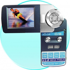 China Palm Digital Video Camera - 2.5 Inch TFT LCD Rotating Screen on sale
