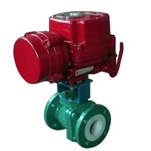 China Fluorine control valves Series Fluorine electric adjustment valves on sale
