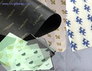 China Printing LOGO tissue Paper on sale