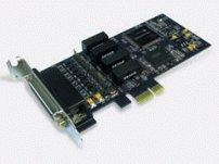 China Industrial 4 ports RS-422/485 PCI-Express Serial Card with Surge & Isolation on sale