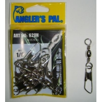 AP1202 BARREL SWIVEL WITH SAFETY SNAP