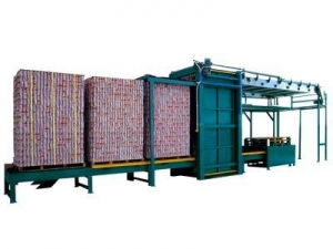 China Empty can depalletizing machine on sale