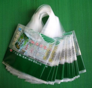 China HDPE, LDPE shopping bags on sale