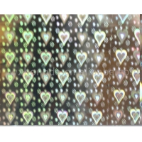 China WDF 99-3-HL Holographic hot stamping foil for plastic on sale