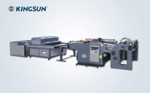 China Spot UV Coating Machine (screen printing type) KJB Series[Back List] on sale