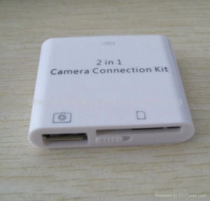 China iPad Camera Connection Kit /2 in 1 card reader ipad-kh701 on sale