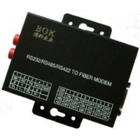 Serial fiber modem RS232/RS485 serial port transfer Fiber Optic Modem