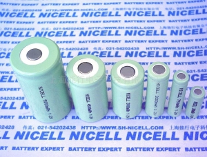 China Cylindrical Ni-MH Rechargeable Battery and Pack on sale