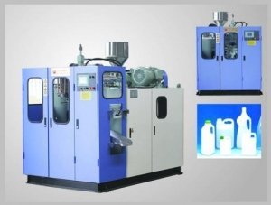 China Fully automatic extrusion blow moulding machine on sale