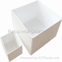 China Fused Silica Crucible on sale
