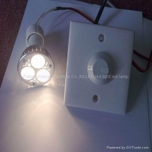 China Dimmable GU10 3*2w high power led bulb light on sale