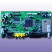 HF Electronic Assembly Type: DTB-UOC3 (LCD TV Board)