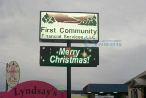 China Front Accessible LED Sign on sale