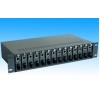 China Fiber Media Converter Unmanaged Chassis Media Converter for sale