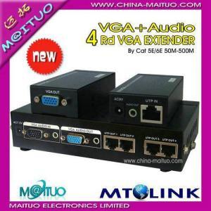 China VGA AUDIO EXTENDER MT-104T on sale