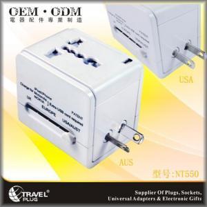 China USB universal travel adaptor NT550 on sale