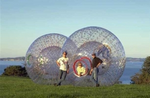 China Zorb ball on sale