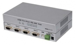 China PH-S861 USB2.0 to 4-port (RS-485/422) high-speed optical isolation converter on sale