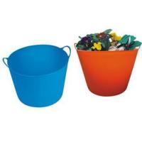 China Flexible plastic buckets on sale