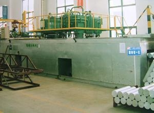 China High-efficiency energy conservation aluminum billet heating furnace supplier