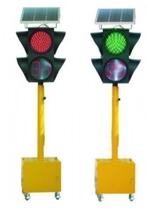 China TS502 Movable, Portable, Solar Traffic Light, Solar Signal Light on sale