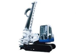 China CS100L Open-Air Crawler DHT Drill Rig on sale