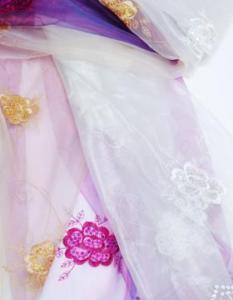 China spangle embroidery curtain fabrics FDBL-6006 on sale
