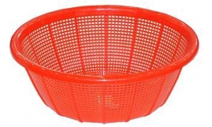 China Plastic crate Name:38# round basket on sale
