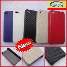 China Leather Skin Sticker Cover for iPhone 4 on sale