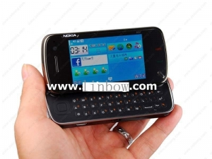 China NOKIA mini N97 Quad band Dual cameras Qwerty keypad JAVA mobile phone on sale