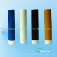 Electronic cigarette cartridges with different colors