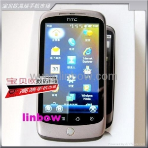 China HTC G5 Windows mobile 6.5 phone of 3.6 HD touch screen GPS WiFi Dual SIMs on sale