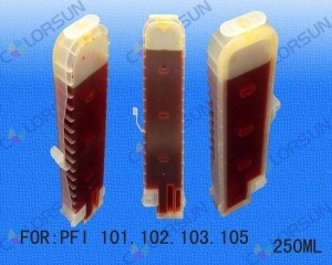 China Refillable cartridges for PFI-105 250ml ink Tank on sale