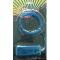 China Car EL Wire Set(blue white yellow green) on sale