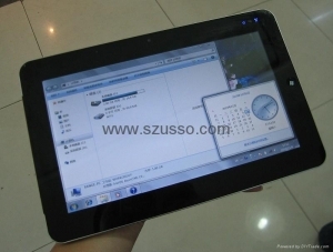 China 10.1'' Tablet PC Winodws 7 Intel N455 1.66GHZ SSD 32G Capacitive Screen on sale