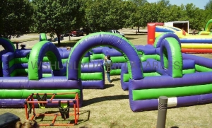 China Inflatable Water Tag Maze,Water Tag on sale