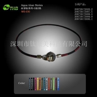 China two color C buckle necklace(4.5) on sale