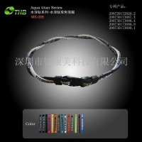 China Health Movement Jewelry Name :Two-color necklace on sale