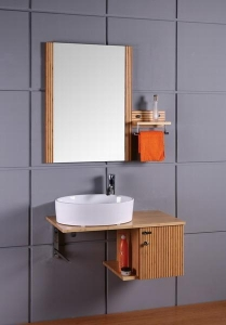 China Bamboo Bathroom Cabinet KB-9170 on sale