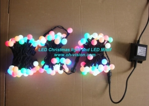 China Low voltage RGB Led string light on sale
