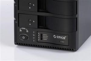 China ORICO 1328rus3 dual 3.5 HDD USB3.0 RAID External Enclosure on sale