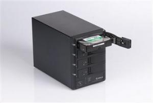 China ORICO 1348rus four BAY 3.5 SATA HDD RAID External Enclosure(USB2.0+eSATA) on sale