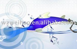 China LED LIGHT ANIMAL SOUND dolphin keyring on sale