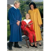 Classic Choir robes with open sleeve